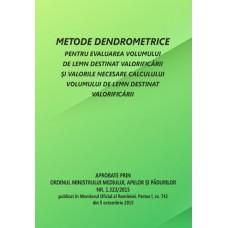 METODE-TABELE DENDROMETRICE (OM 1.323/2015)