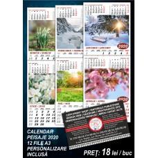 Calendar Peisaje 2020