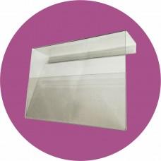 Suport plastic 12x8 cm - pentru afișare preț produs