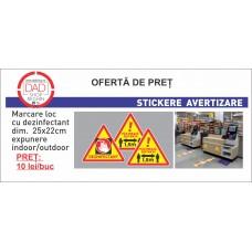 Sticker pentru avertizare/marcare