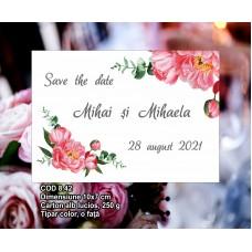 Cartonaş Save the Date