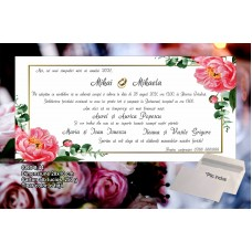 Invitaţii nuntă Cod 8.44