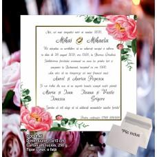 Invitaţii nuntă Cod 8.46