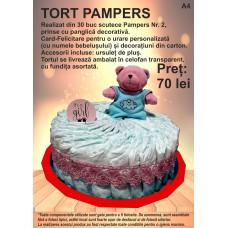 Tort din Pampers