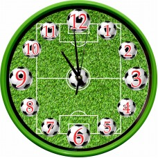 Ceas de Perete Decor Fotbal