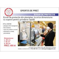 Ecran-Panou protecție ghișeu
