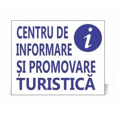 Panou Centru de Informare și Promovare Turistică