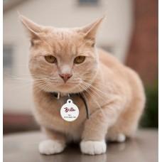 Medalion Pisică formă Rotundă