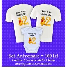 Set 3 - Aniversare Băieţel 2 ANI Winnie the Pooh