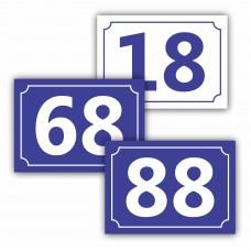 Număr casă PVC
