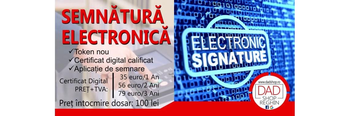 Dosar Semnătură Electronică
