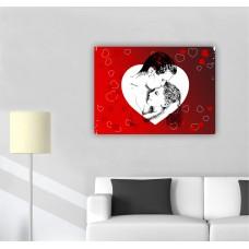 Tablou Pânză Canvas - Cadou Valentines Day